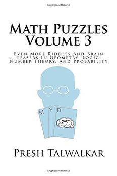 Math Puzzles Volume 3 book cover