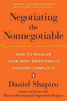 Negotiating the Nonnegotiable book cover