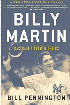 Billy Martin book cover