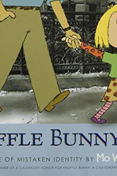 Knuffle Bunny Too book cover