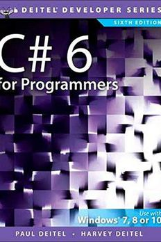 C# 6 for Programmers book cover