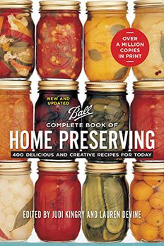 Ball Complete Book of Home Preserving book cover