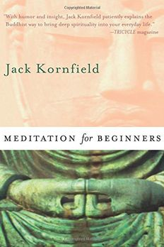 Meditation for Beginners book cover
