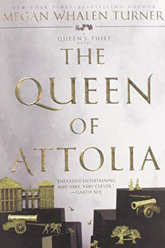 The Queen of Attolia book cover