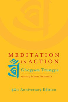 Meditation in Action book cover