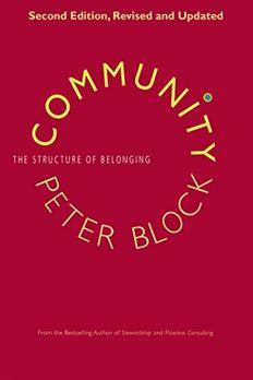 Community book cover