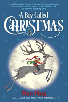 A Boy Called Christmas book cover