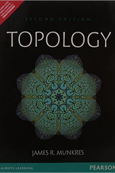 Topology by Munkres - International Economy Edition book cover