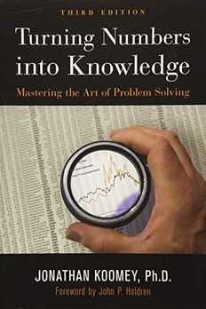 Turning Numbers into Knowledge book cover