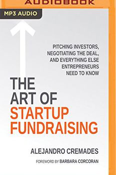Art of Startup Fundraising, The book cover