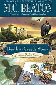Death of a Glutton book cover