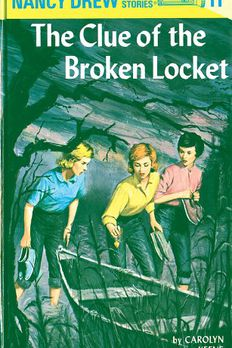 The Clue of the Broken Locket book cover