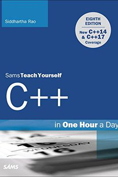 C++ in One Hour a Day, Sams Teach Yourself book cover