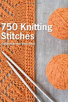 750 Knitting Stitches book cover