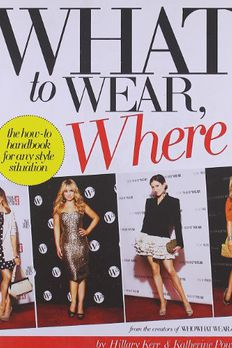 What to Wear, Where book cover
