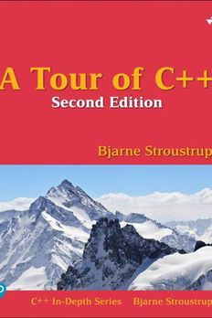 A Tour of C++ book cover