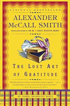 The Lost Art of Gratitude book cover