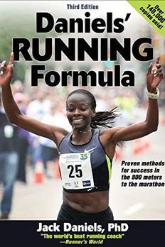 Daniels' Running Formula book cover