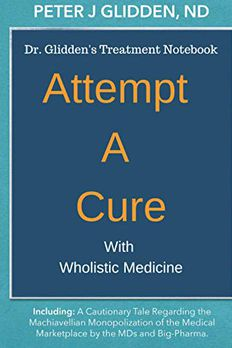 Attempt A Cure With Wholistic Medicine book cover