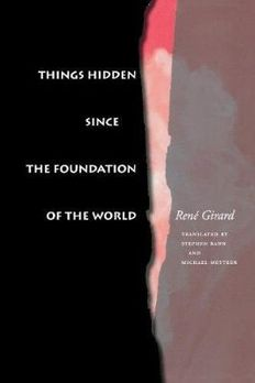 Things Hidden Since the Foundation of the World book cover
