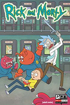 Rick and Morty #1 book cover