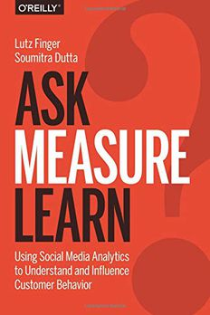 Ask, Measure, Learn book cover