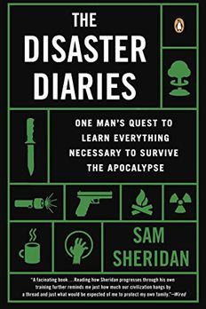 The Disaster Diaries book cover