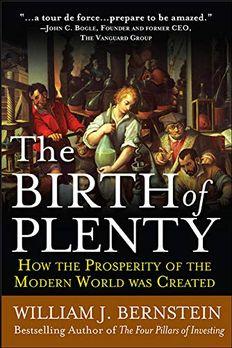 The Birth of Plenty book cover