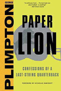 Paper Lion book cover