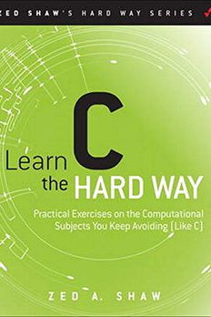Learn C the Hard Way book cover