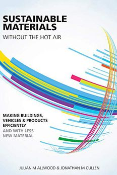 Sustainable Materials Without the Hot Air book cover
