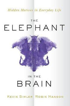 The Elephant in the Brain book cover
