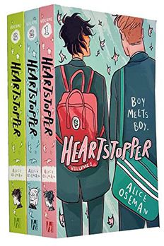 Heartstopper Series Volume 1-3 Books Collection Set By Alice Oseman book cover