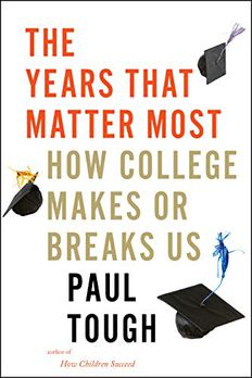 The Years That Matter Most book cover