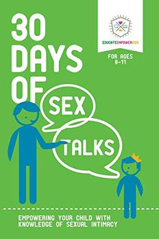 30 Days of Sex Talks for Ages 8-11 book cover