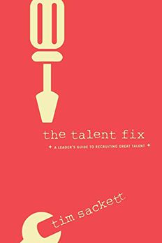 Talent Fix book cover