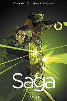 Saga Volume 7 book cover