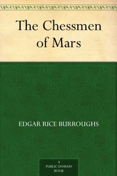 The Chessmen of Mars book cover