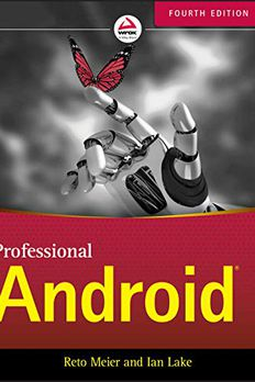 Professional Android book cover