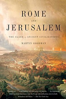 Rome and Jerusalem book cover