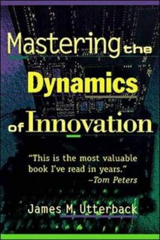 Mastering the Dynamics of Innovation book cover