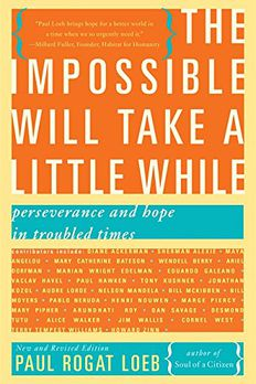 The Impossible Will Take a Little While book cover