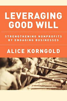 Leveraging Good Will book cover