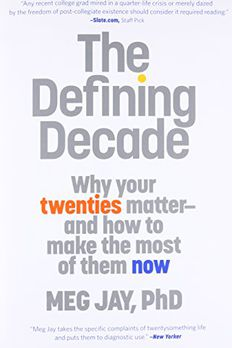 The Defining Decade book cover