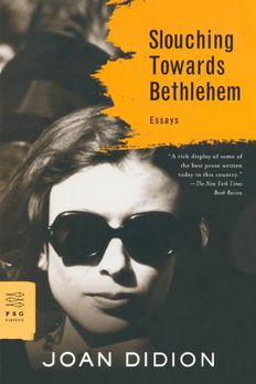 Slouching Towards Bethlehem book cover