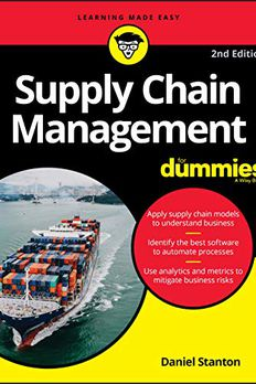 Supply Chain Management For Dummies book cover