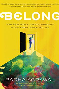 Belong book cover