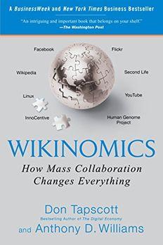 Wikinomics book cover
