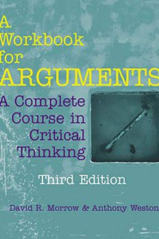 A Workbook for Arguments book cover