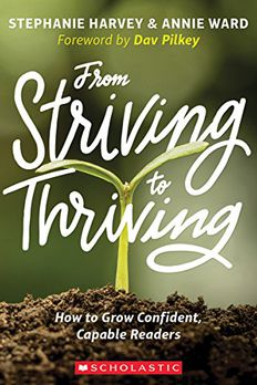 From Striving to Thriving book cover